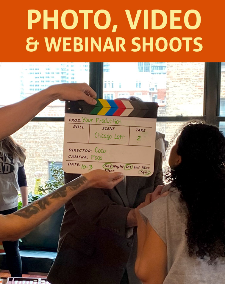 Photo, video, Webinar Shoot Studio Space for Rent