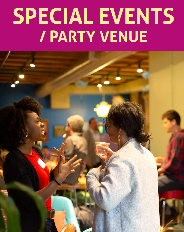 Special Events Party Venue Rental