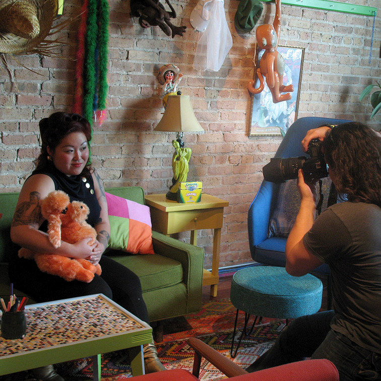 Photoshoot space in Downtown Chicago