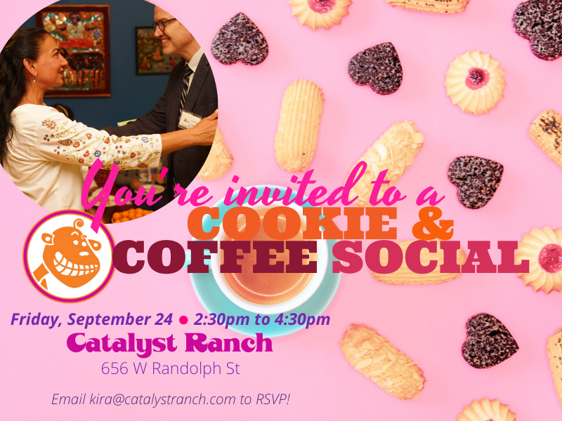 invitation for Sept 24 cookie and coffee social
